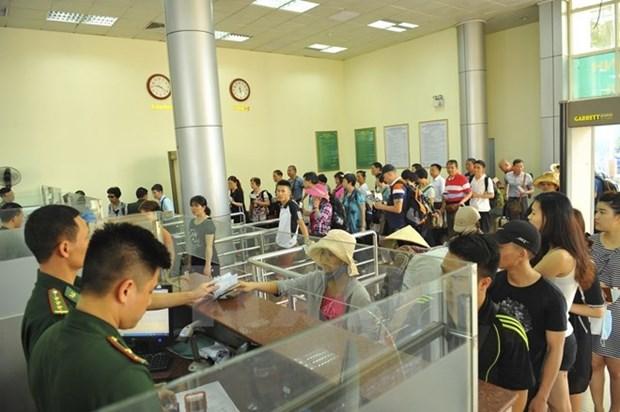 Exemption de frais de visa de sortie au poste frontalier de Mong Cai pour les Vietnamiens hinh anh 1