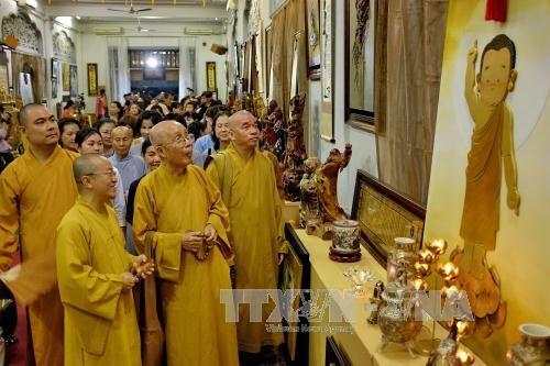 Semaine de la Culture nationale et du Bouddhisme a Ho Chi Minh-Ville hinh anh 1