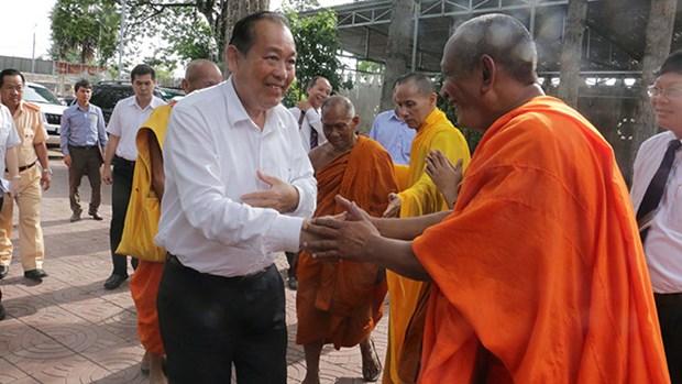 Celebrations du 2561e anniversaire du Bouddha hinh anh 2