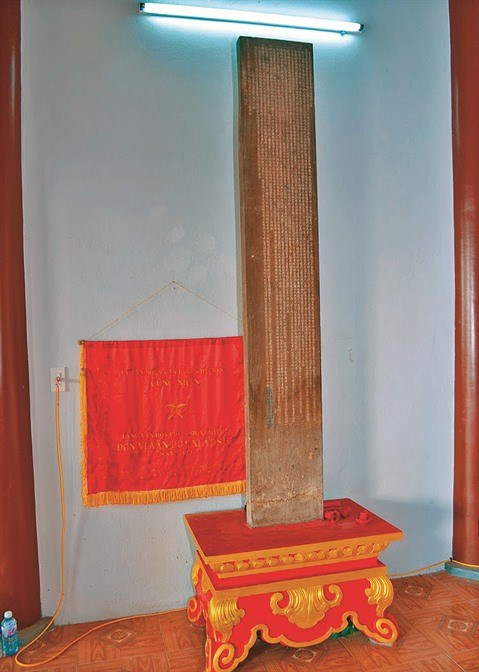 Une convention villageoise gravee sur bois datee de 1774 hinh anh 1