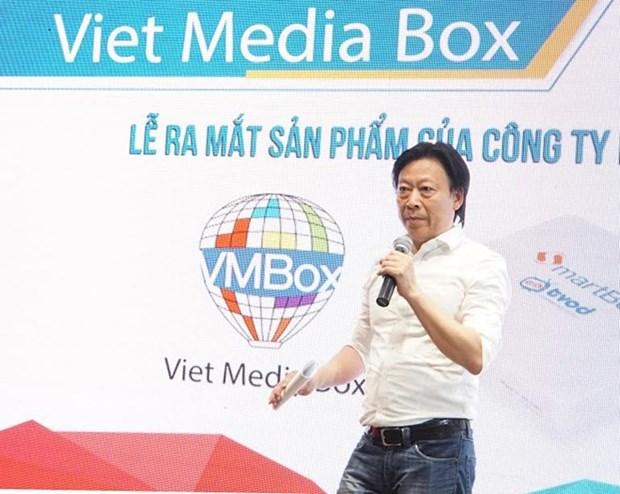 Les Vietnamiens en Allemagne raccordes au bouquet televise du Vietnam hinh anh 1