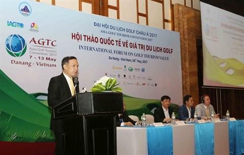 Renforcer le potentiel du tourisme de golf au niveau international hinh anh 1