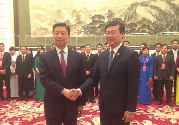 La cooperation entre les jeunes est une base pour les liens Vietnam-Chine hinh anh 1