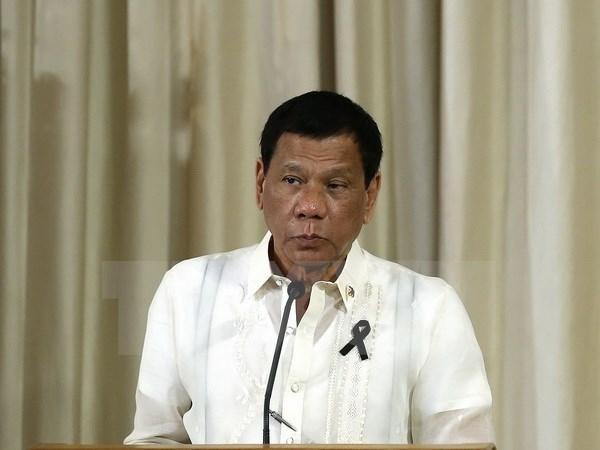 Le president philippin en Russie pour renforcer les liens bilateraux hinh anh 1
