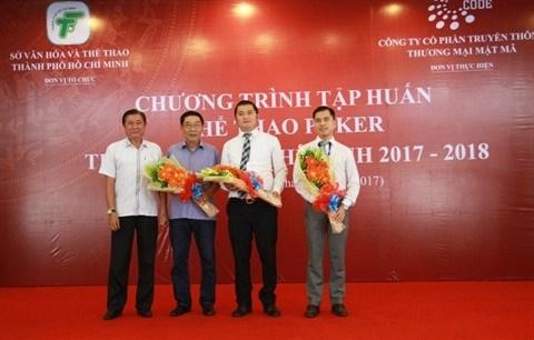 L'atelier de formation au poker a Ho Chi Minh-Ville hinh anh 1