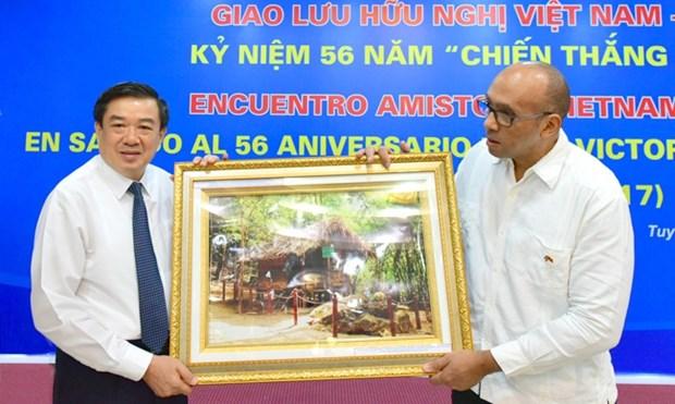Echange d'amitie Vietnam – Cuba a Tuyen Quang hinh anh 1
