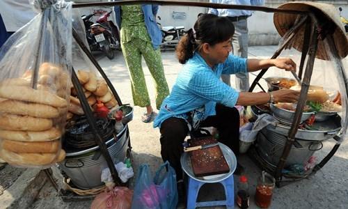Ho Chi Minh-Ville parmi les paradis de la cuisine de rue hinh anh 1