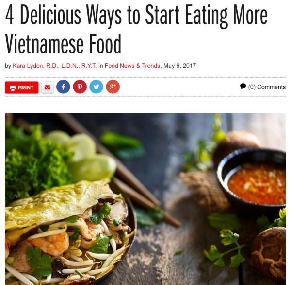 La cuisine vietnamienne continue a faire parler d'elle a l'etranger hinh anh 1