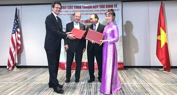 Vietjet signe des contrats de plus de 4,7 milliards d'USD avec des partenaires americains hinh anh 1