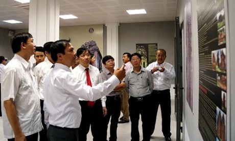 Exposition sur les etudes de l'architecture du Champa a Da Nang hinh anh 1