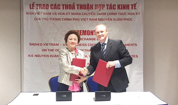 BRG et Hilton Worlwide, exemple de cooperation Vietnam- Etats-Unis hinh anh 1