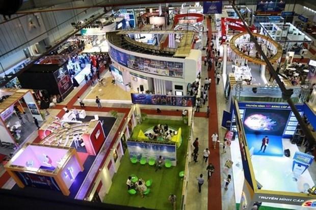 Exposition sur les telefilms et technologies televisuelles a Ho Chi Minh-Ville hinh anh 1