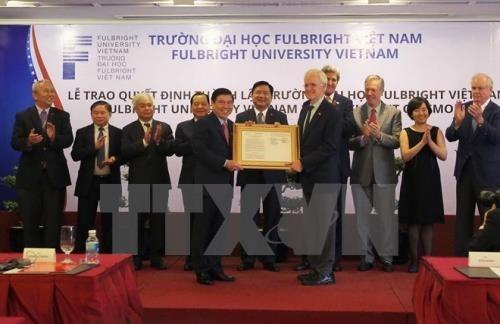 Les Etats-Unis financent de 15,5 millions de dollars a l'Universite Fulbright du Vietnam hinh anh 1