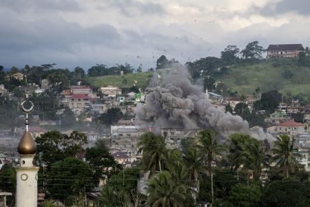 Philippines : 13 soldats tues lors de combats avec des cambattants islamistes hinh anh 1