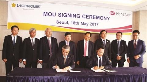 Vietnam - Republique de Coree : partenariat entre Saigontourist et Hanatour hinh anh 1