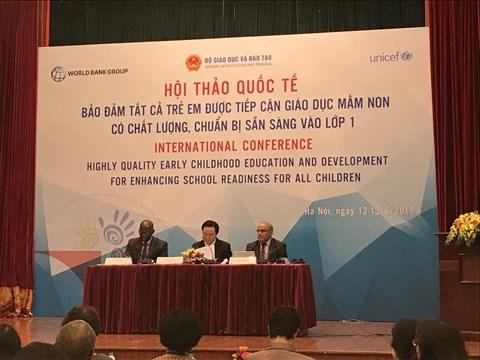 L'education prescolaire au cœur d'un colloque international a Hanoi hinh anh 1