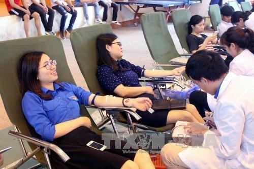Le Vietnam, pays hote de la Journee mondiale du donneur de sang 2017 hinh anh 1