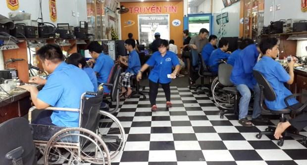 Congres de l'Union des associations des handicapes du Vietnam hinh anh 1