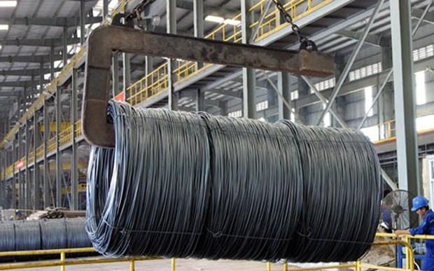 5 mois: bond des exportations nationales d'acier hinh anh 1