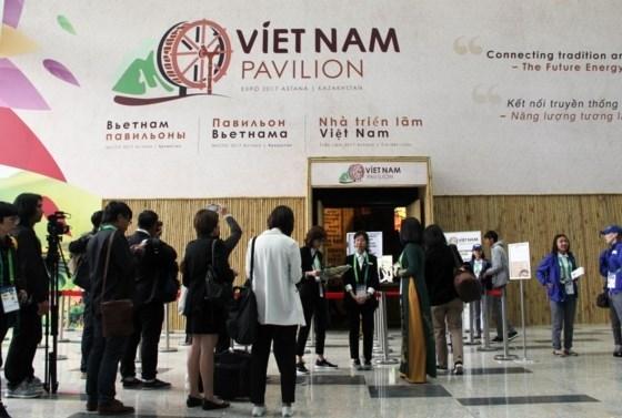 Ouverture du pavillon vietnamien a l'EXPO 2017 au Kazakhstan hinh anh 1