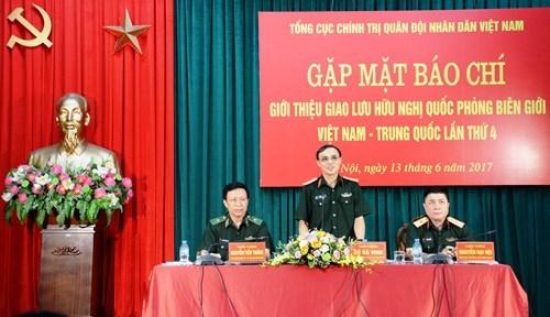 Lai Chau accueillera le 4e echange d'amitie de la defense frontaliere Vietnam-Chine hinh anh 1