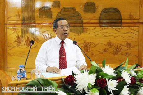 La 4eme session du Comite de cooperation dans les sciences et les technologies Vietnam-Laos hinh anh 1