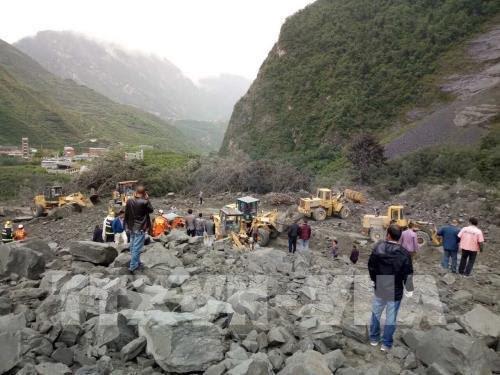 Glissement de terrain en Chine : message de sympathie du Vietnam hinh anh 1