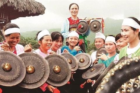 Pour que resonne le son des gongs de Ba Vi hinh anh 2