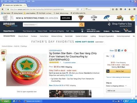 E-commerce : les produits traditionnels vietnamiens se vendent bien hinh anh 1