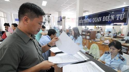 Le paiement des taxes douanieres en ligne des novembre prochain hinh anh 1