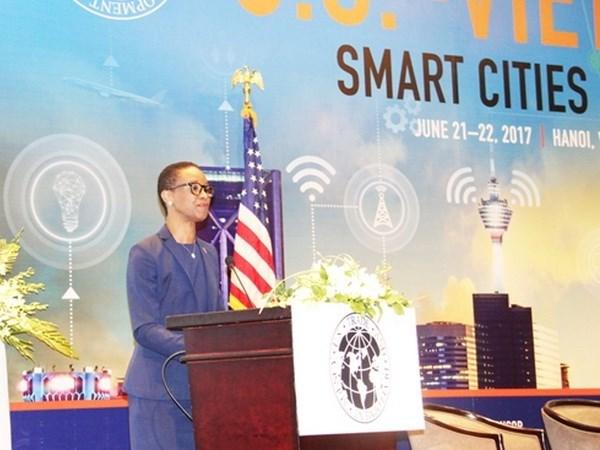 Vietnam - Etats-Unis: Cooperation dans le developpement des villes intelligentes hinh anh 1