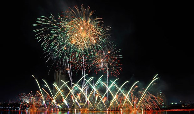 Cloture du Festival international de Feux d'artifice de Da Nang (DIFF) 2017 hinh anh 1