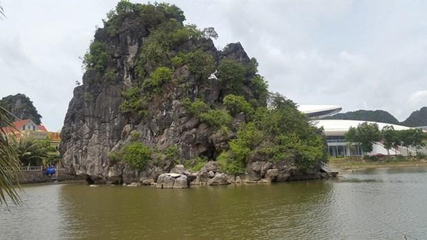 Le penjing le plus grand du pays a Quang Ninh hinh anh 1