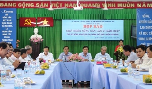 Ho Chi Minh-Ville : 160 stands a la 6e Foire des produits agricoles hinh anh 1