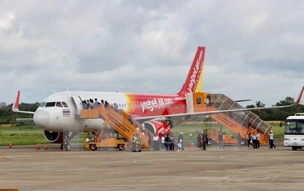 Inauguration de la ligne aerienne directe Can Tho-Bangkok hinh anh 1