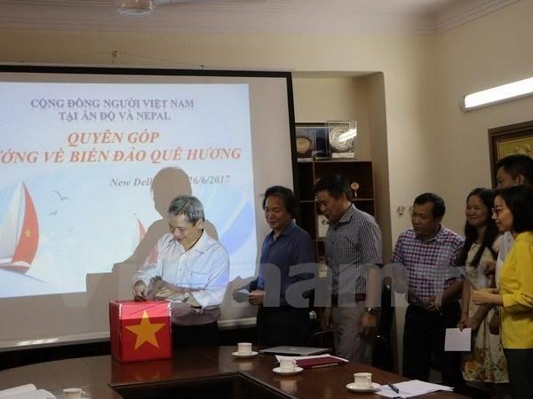Les Vietnamiens en Inde et au Nepal s'orientent vers la Patrie hinh anh 1