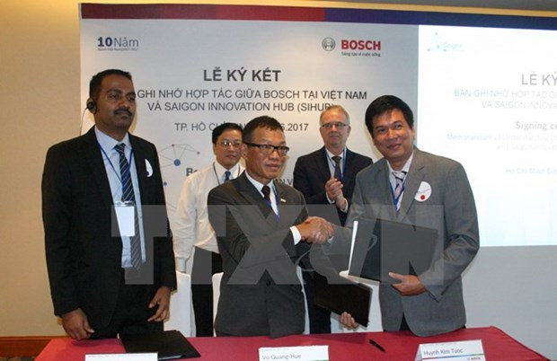 Le groupe allemand Bosch soutient la start-up innovante au Vietnam hinh anh 1
