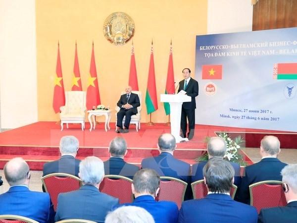 Vietnam et Bielorussie cherchent a renforcer leurs liens economiques hinh anh 1