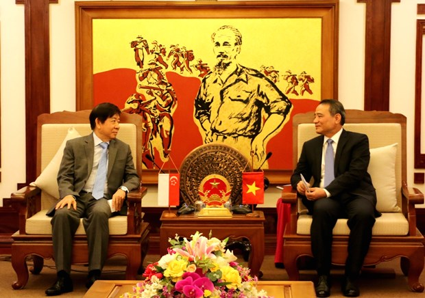 Vietnam - Singapour: renforcement de la cooperation dans les transports hinh anh 1