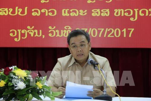 La communaute vietnamienne contribue a la preservation de la solidarite et de l'amitie Vietnam-Laos hinh anh 1