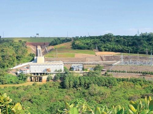 Raccordement de la centrale hydroelectrique de Thac Mo elargie au reseau national hinh anh 1