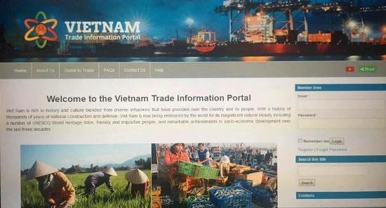 Le portail d'information commerciale du Vietnam voit le jour hinh anh 1