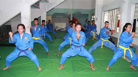 Les accros indiens de l'art martial Vovinam hinh anh 1