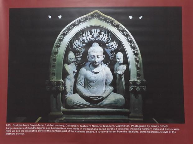 Une exposition de photos sur le patrimoine bouddhique s'ouvre a Hanoi hinh anh 1