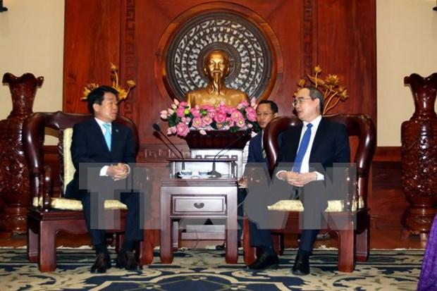 Pour la creation d'un centre d'assistance de start-up sud-coreenne a Ho Chi Minh-Ville hinh anh 1