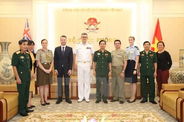 Le Vietnam et l'Australie renforcent leur cooperation dans la defense hinh anh 1