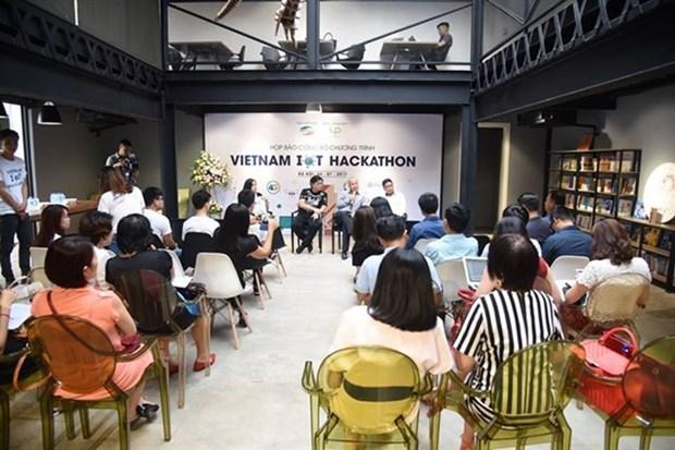 Lancement du concours IoT Hackathon hinh anh 1