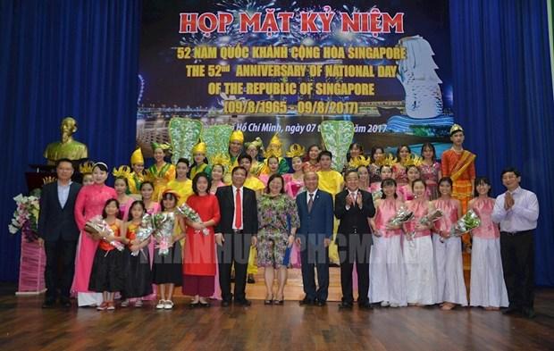 La Fete nationale de Singapour celebree a Ho Chi Minh-Ville hinh anh 1
