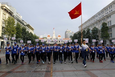 La delegation vietnamienne vise haut aux SEA Games 29 hinh anh 1