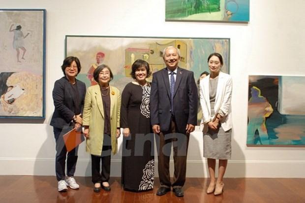 Exposition pour feter les relations Vietnam-R. de Coree a Seoul hinh anh 1